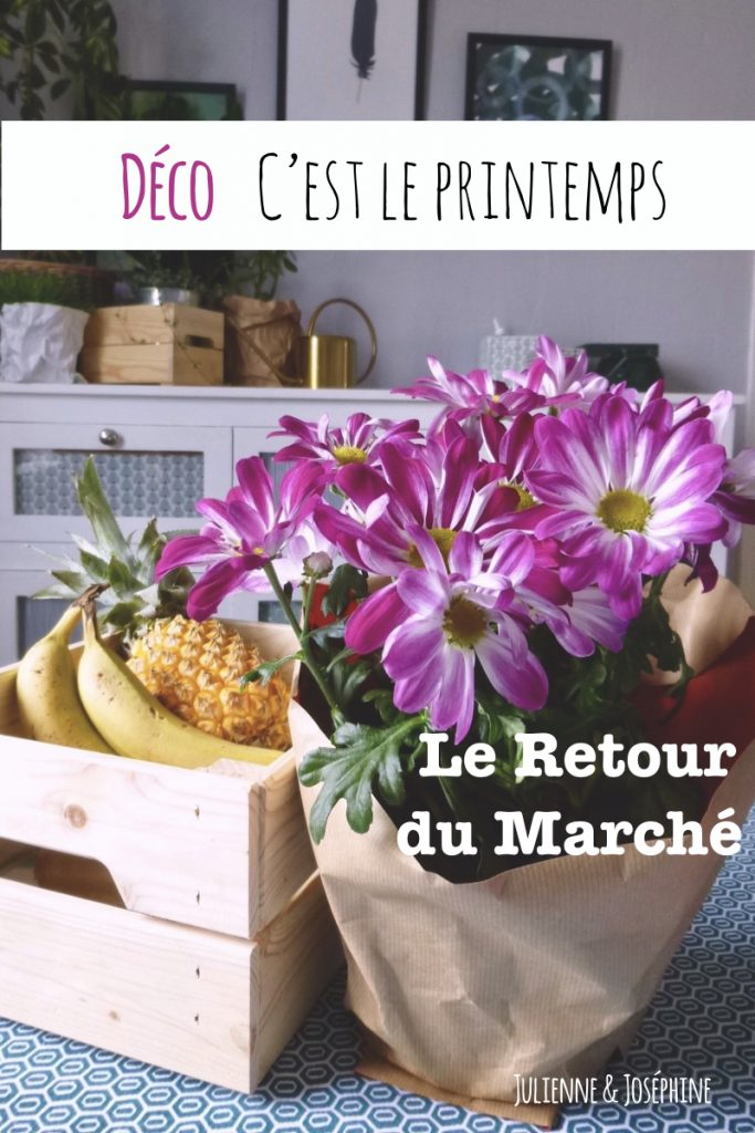 idée de décoration fraiche, simple et tendance pour votre cuisine ce printemps