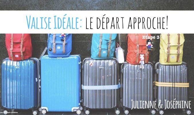 Troisième et dernière étape de ma méthode pas à pas, pour boucler sa valise idéale pour un départ en vacances sans stress.