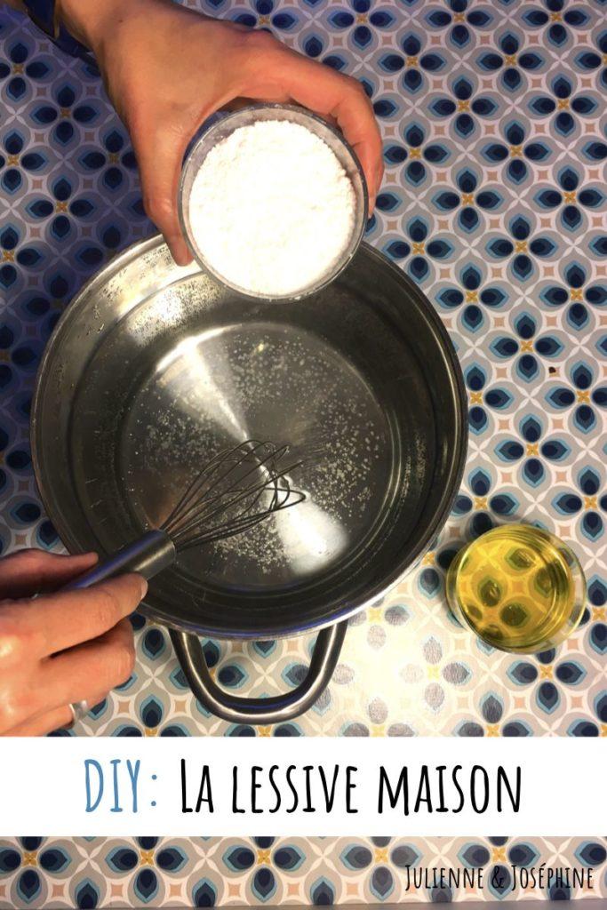 la recette de ma lessive maison