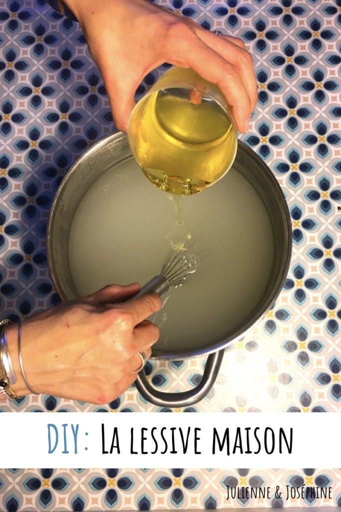 Comment faire une lessive maison efficace